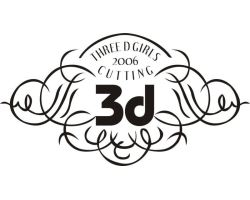 3d(Three D girl's cutting)