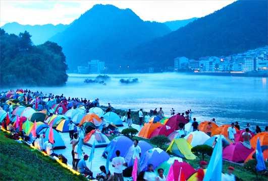 建德新安江旅游节_建德新安江帐篷节 打造建德版\