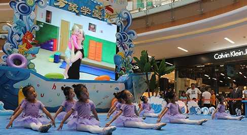 鲁中最先进儿童品牌主题乐园——童学汇入驻淄博万象汇
