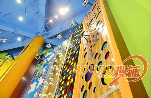 哈你运动馆-趣味攀爬项目
