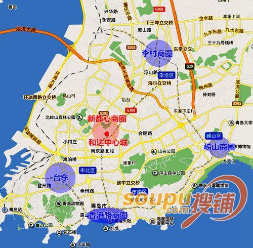和达中心城打造青岛新都心首席城市综合体 麦凯乐入驻