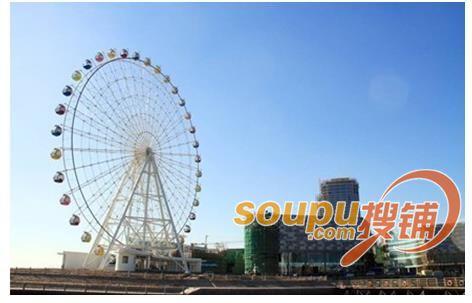 青岛建设海上嘉年华主题游乐园 总建面54009平方米