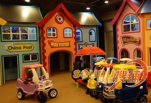 都能在嘉里城儿童探险乐园找到一片属于自己的小天地
