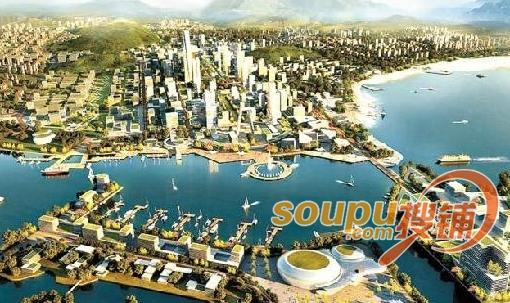 青岛西海岸新区核心区:4个月签约700多亿