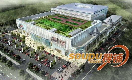 正大桐山国际购物广场明年底建成