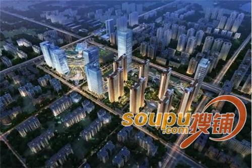 凯德广场和招商江湾国际将成为汉江湾商圈南端最有力的支撑