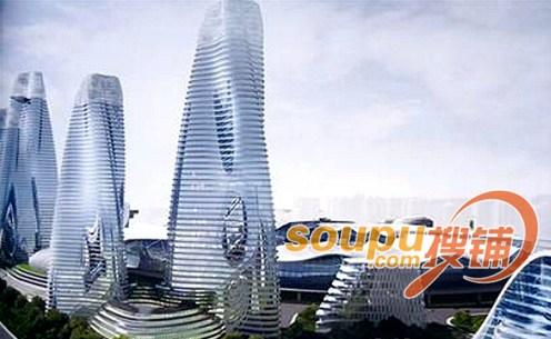 盘点青岛十大超级房地产项目:万达