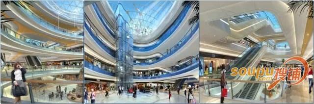 四、三大主力业态构成购物中心的跨界创新 针对这样的22万方的购物中心,消费者对其认知了解就变成了:这里到底还会有什么不一样的地方?这样的问题上来。 我们来看正荣的策略。 首先,在这个购物中心里面,项目植入了三个独特的亮点。 第一个是正荣海洋世界。海洋馆作为当前跨界的一个重要品类,而且已经成为业内的一种跨界趋势。海洋馆一般都是一个项目吸客的重要利器。这种业态巧妙的抓住了孩子的兴趣,从而带动了整个家庭消费。