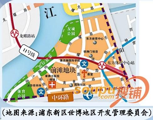 """前滩:第二个陆家嘴 未来将""""引爆""""上海自贸区"""