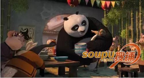 脑洞大开!电影里商业场景:侏罗纪世界,功夫熊猫