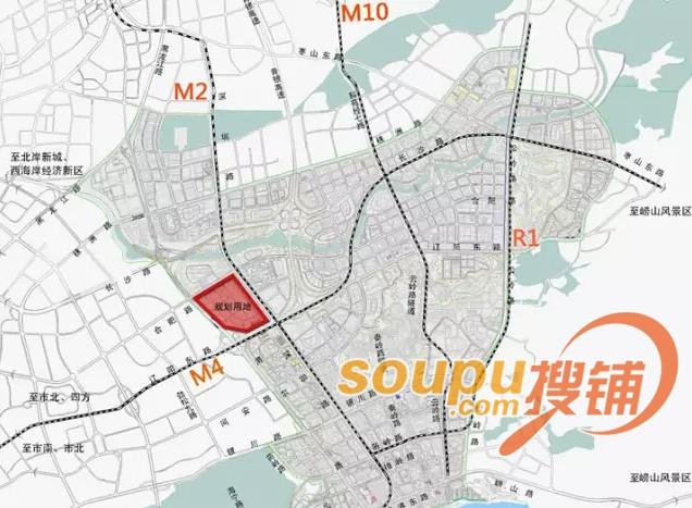 崂山区75万方地铁上盖用地规划公示