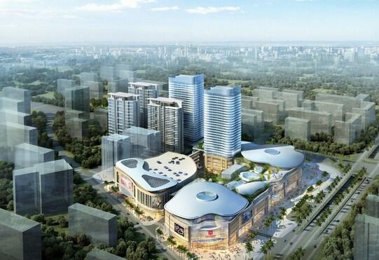 雄盛王府广场明年开业 打造24万方体验式商业