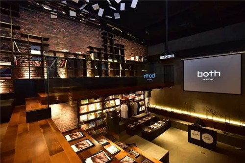 书店吧台灯光设计