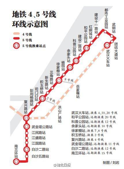 按照规划,在未来9年内,武汉将新建14条地铁线路,举城欢庆!