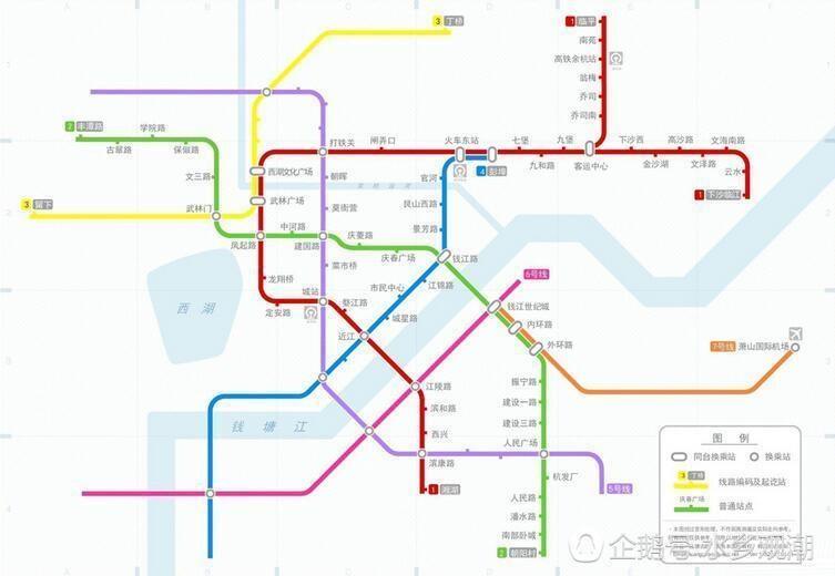 杭州最新地铁规划曝光 亚运会前建成12条地铁线路