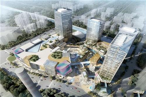 明年城北商业体遍地开花远洋乐堤港17年6月2园林设计与v商业规范图片