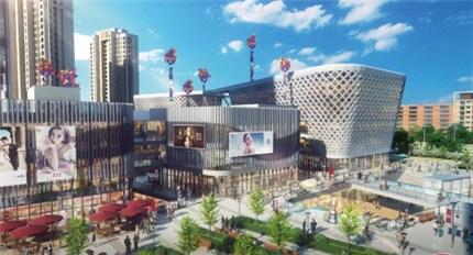 恒大水晶国际广场:汇聚人气驱动龙川 影响合肥商业