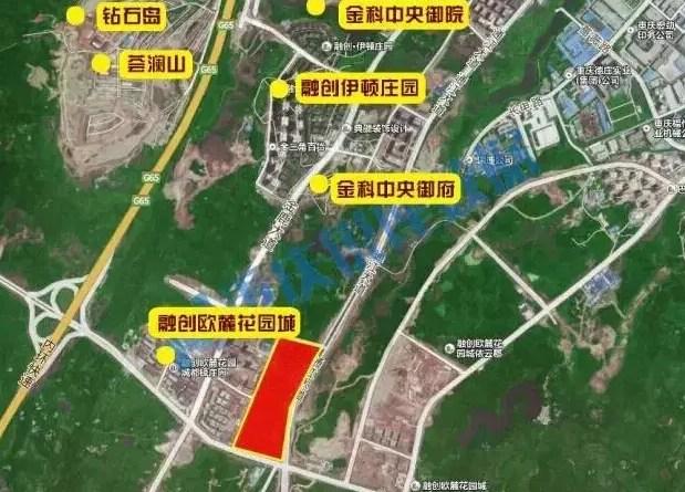 北京首创1.55亿拿下重庆鹿角商业地块或建奥特莱斯