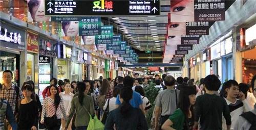 广州南美食街图片