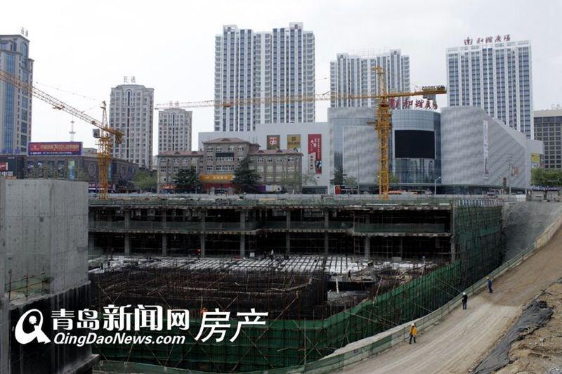 维客广场改造项目是青岛市三大