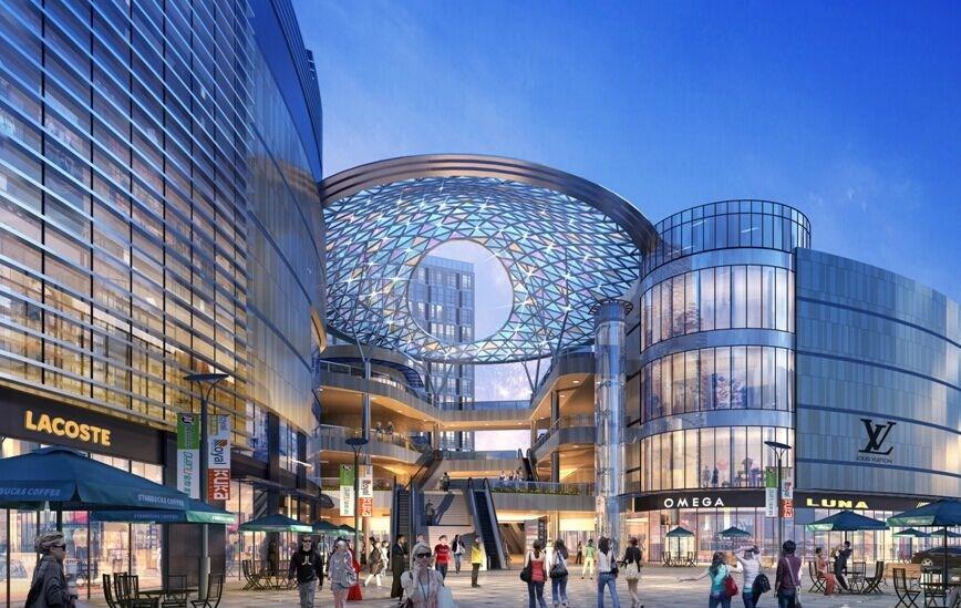 商业综合体_瑞丰国际商业广场明年开业 打造平湖首个商业综合体