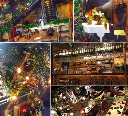 酒吧风格的装修很潮流,文艺小清新路线,跟一般的潮汕牛肉店的环境还是