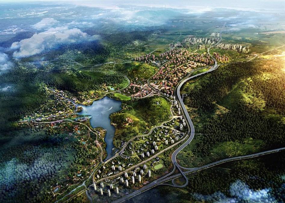 青岛灵山湾百亿级项目达5个 总投资超千亿元