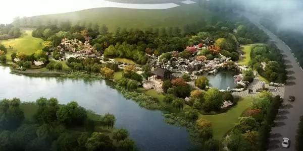 坐落于国家5a景区苏州吴中太湖旅游区东山,旺山和穹窿山的三角腹地.