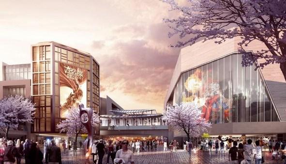 北京五棵松的成都首战 华熙集团打造528艺术村