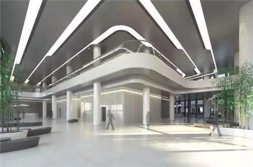 连廊商业展示设计