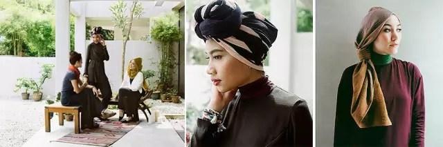 以穆斯林服装设计见长的设计师hana tajima