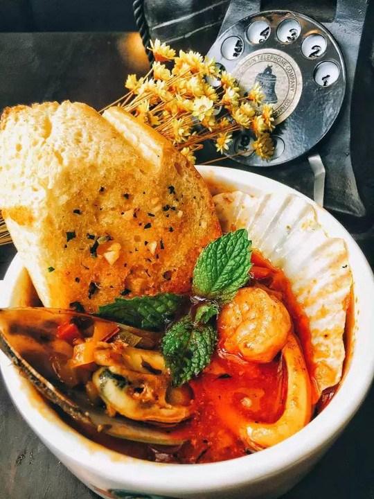 意式海鲜汤