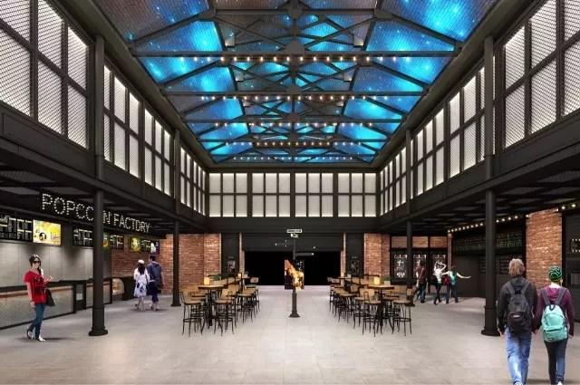 CGV星聚汇影城青岛新都心店位于青岛市市北区,集观影、餐饮、购物、休闲娱乐于一体,给您提供一站式的出行享受。同时附近交通便利,多条公交、地铁线路直达。 影城占地面积近4000平方米,设有7个豪华影厅,共1159个座位,其中拥有一个IMAX影厅。建筑和人文融合的空间设计技巧,美式复古风格的装修设计,倾力打造创新电影空间。