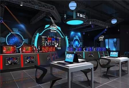 电竞风格全套装修效果图-转型 百脑汇上海店 10月开启智能商场体验新