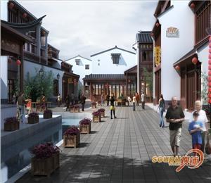 梅州大观天下景区商业综合体