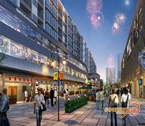 广州太和米龙商业步行街